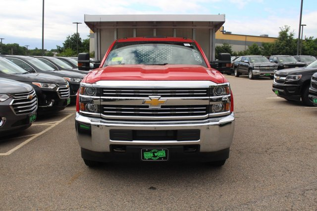 2018 Silverado 3500 Regular Cab DRW 4x4,  Landscape Dump #C59794 - photo 10