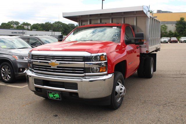 2018 Silverado 3500 Regular Cab DRW 4x4,  Landscape Dump #C59794 - photo 11