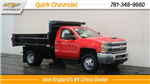 2018 Silverado 3500 Regular Cab DRW 4x4, Dump Body #C60287 - photo 1