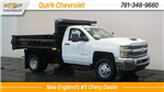 2018 Silverado 3500 Regular Cab DRW 4x4, Dump Body #C60324 - photo 1