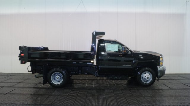 2018 Silverado 3500 Regular Cab DRW 4x4, Dump Body #C60392 - photo 3