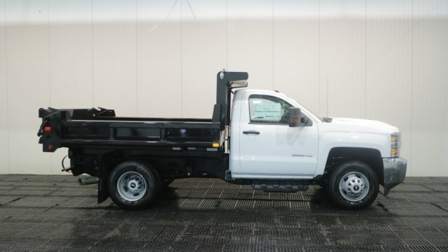 2018 Silverado 3500 Regular Cab DRW 4x4,  Air-Flo Dump Body #C60746 - photo 3