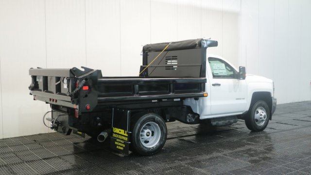 2018 Silverado 3500 Regular Cab DRW 4x4,  Air-Flo Dump Body #C60746 - photo 2