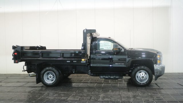 2018 Silverado 3500 Regular Cab DRW 4x4,  Air-Flo Dump Body #C60747 - photo 3