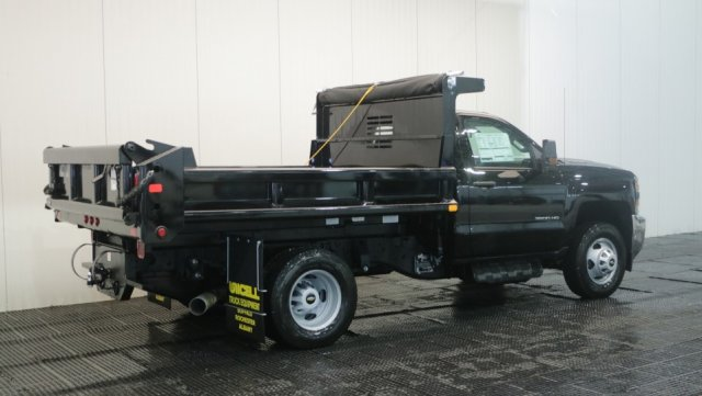 2018 Silverado 3500 Regular Cab DRW 4x4,  Air-Flo Dump Body #C60747 - photo 2