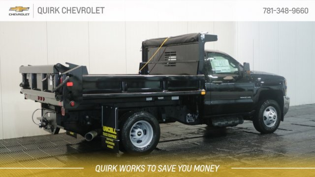 2018 Silverado 3500 Regular Cab DRW 4x4,  Air-Flo Pro-Class Dump Body #C60747 - photo 2