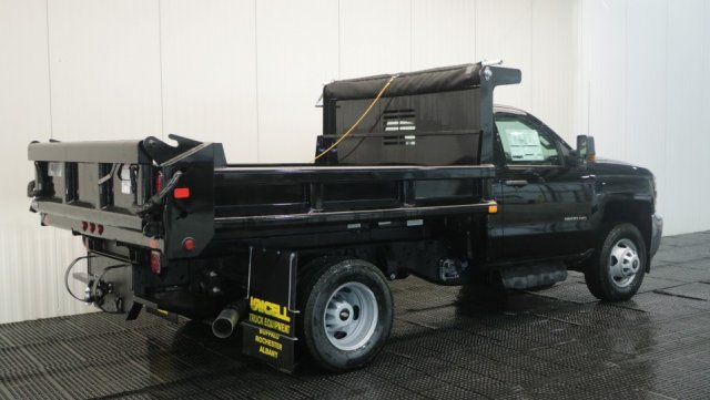 2018 Silverado 3500 Regular Cab DRW 4x4,  Dump Body #C60848 - photo 2