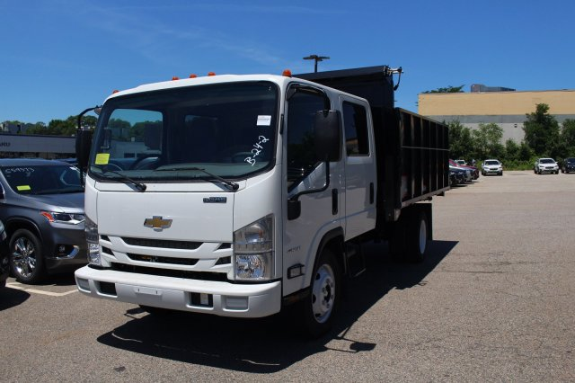 2018 LCF 4500 Crew Cab 4x2,  Reading Landscape Dump #C61285 - photo 5