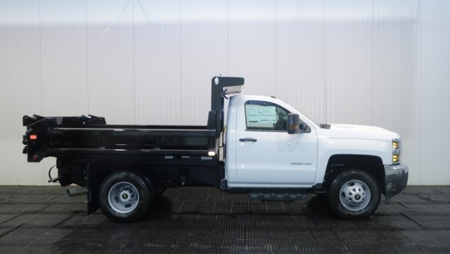 2018 Silverado 3500 Regular Cab DRW 4x4,  Air-Flo Dump Body #C62058 - photo 3