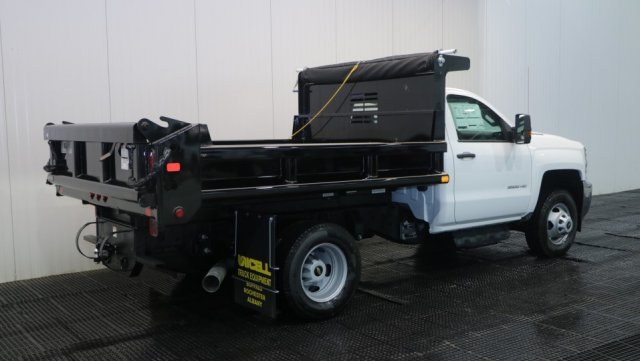 2018 Silverado 3500 Regular Cab DRW 4x4,  Air-Flo Dump Body #C62058 - photo 2