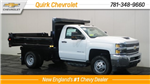 2018 Silverado 3500 Regular Cab DRW 4x4,  Air-Flo Dump Body #C62058 - photo 1