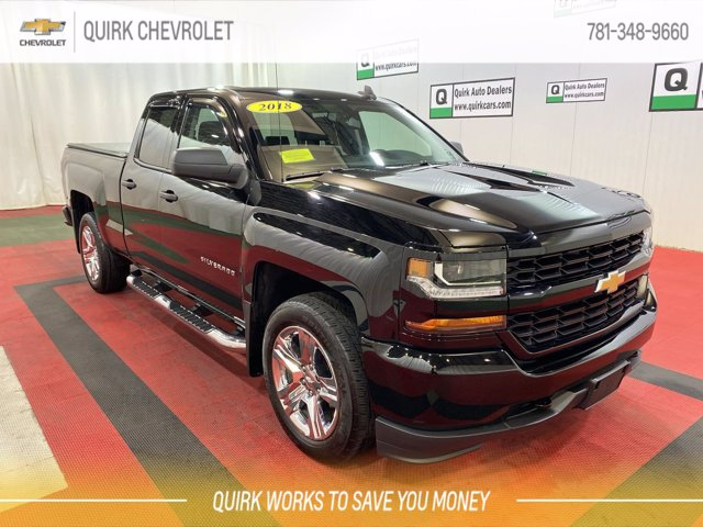 2018 Silverado 1500 Double Cab 4x4,  Pickup #C62064 - photo 1