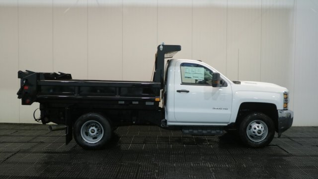2018 Silverado 3500 Regular Cab DRW 4x4,  Dump Body #C62482 - photo 3