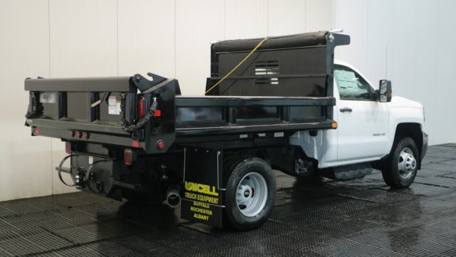 2018 Silverado 3500 Regular Cab DRW 4x4,  Dump Body #C62482 - photo 2