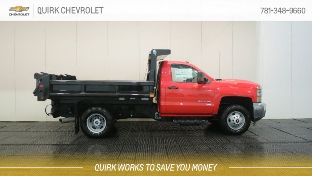 2018 Silverado 3500 Regular Cab DRW 4x4,  Air-Flo Dump Body #C62624 - photo 3