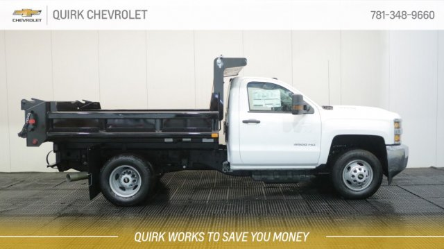 2018 Silverado 3500 Regular Cab DRW 4x4,  Air-Flo Dump Body #C62625 - photo 3