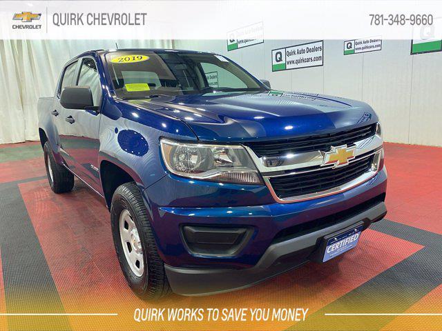 2019 Chevrolet Colorado Crew Cab 4x4, Pickup #C72803A - photo 1