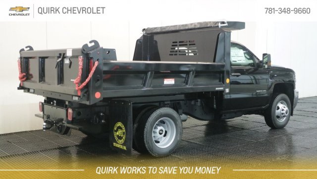 2019 Silverado 3500 Regular Cab DRW 4x4,  Reading Marauder Standard Duty Dump Body #C63319 - photo 2