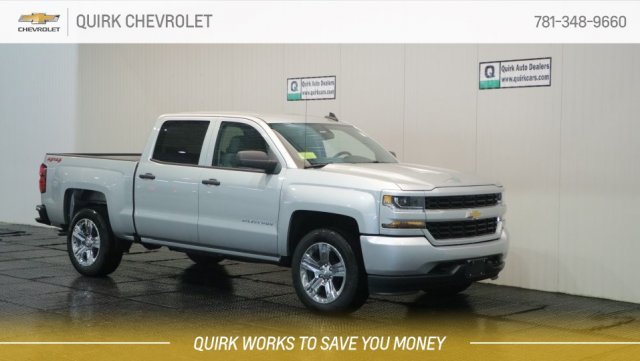 2018 Silverado 1500 Crew Cab 4x4,  Pickup #C63715 - photo 1