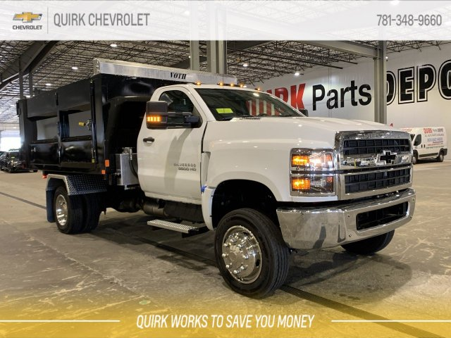 2019 Chevrolet Silverado 5500 Regular Cab DRW 4x4, Kargo King 11 Hooklift Body #C65161 - photo 1
