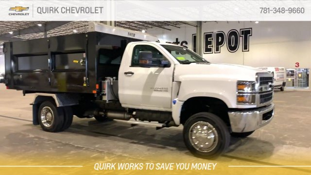 2019 Chevrolet Silverado 5500 Regular Cab DRW 4x4, Kargo King 11 Hooklift Body #C65161 - photo 6