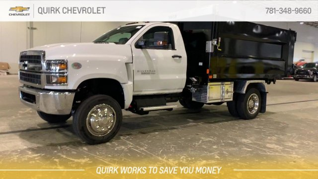 2019 Silverado 5500 Regular Cab DRW 4x4, Kargo King 11 Hooklift Body #C65161 - photo 8