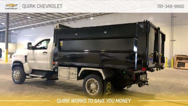 2019 Chevrolet Silverado 5500 Regular Cab DRW 4x4, Kargo King 11 Hooklift Body #C65161 - photo 12
