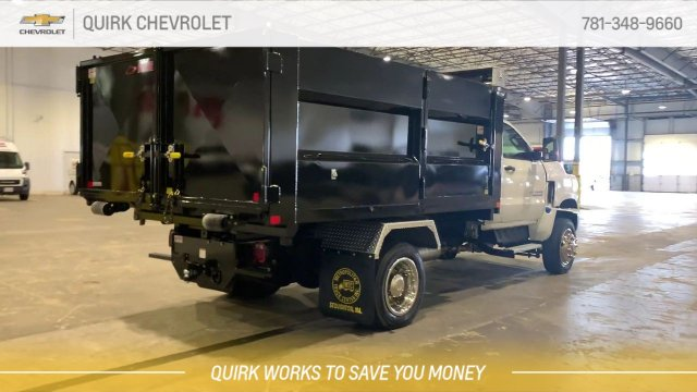 2019 Silverado Medium Duty Regular Cab 4x4,  Kargo King Hooklift Body #C65161 - photo 1