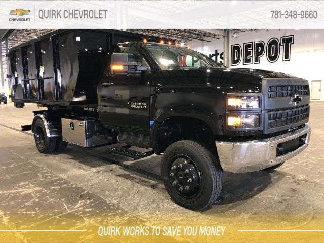 2019 Silverado Medium Duty Regular Cab 4x4,  Switch N Go Hooklift Body #C66468 - photo 1