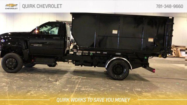 2019 Silverado 5500 Regular Cab DRW 4x4,  Switch N Go Drop Box Hooklift Body #C66468 - photo 5