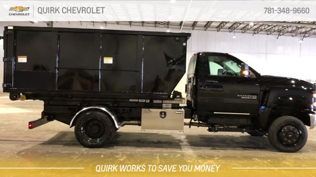 2019 Silverado 5500 Regular Cab DRW 4x4,  Switch N Go Drop Box Hooklift Body #C66468 - photo 9