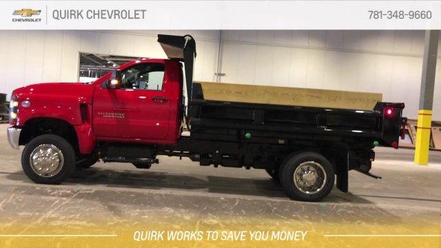 2019 Silverado 5500 Regular Cab DRW 4x4, Galion 100U Dump Body #C66469 - photo 9