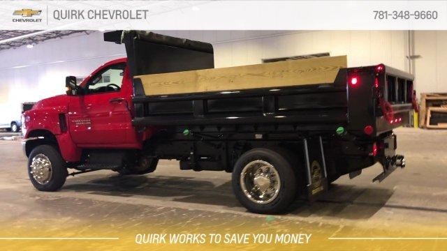 2019 Silverado 5500 Regular Cab DRW 4x4, Galion 100U Dump Body #C66469 - photo 10