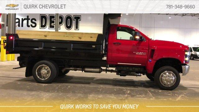 2019 Silverado 5500 Regular Cab DRW 4x4, Galion 100U Dump Body #C66469 - photo 12