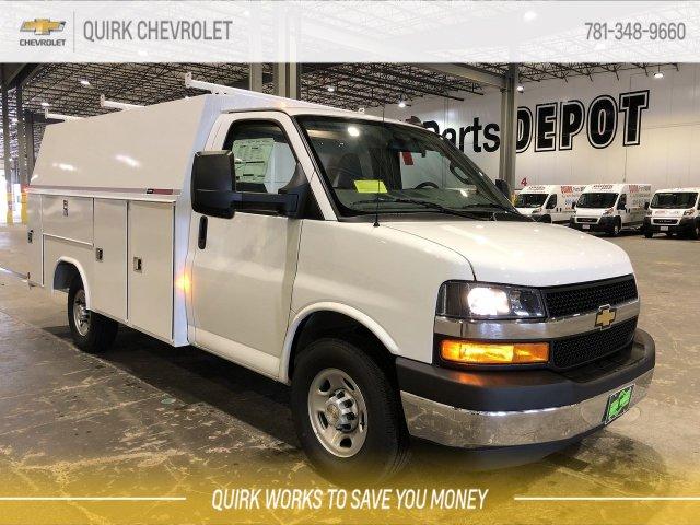 2019 Chevrolet Express 3500 4x2, Reading Service Utility Van #C67361 - photo 1