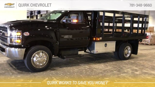 2019 Silverado 5500 Regular Cab DRW 4x2, Reading Steel Stake Bed #C67529 - photo 3