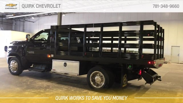 2019 Silverado 5500 Regular Cab DRW 4x2, Reading Steel Stake Bed #C67529 - photo 7