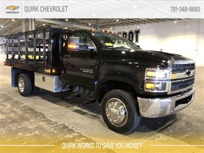 2019 Silverado 5500 Regular Cab DRW 4x2, Reading Steel Stake Bed #C67529 - photo 1