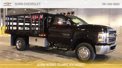 2019 Silverado 5500 Regular Cab DRW 4x2, Reading Steel Stake Bed #C67529 - photo 4
