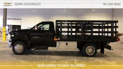 2019 Silverado 5500 Regular Cab DRW 4x2, Reading Steel Stake Bed #C67529 - photo 6