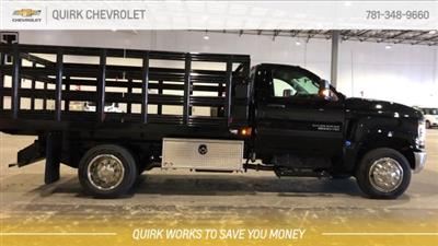 2019 Silverado 5500 Regular Cab DRW 4x2, Reading Steel Stake Bed #C67529 - photo 9