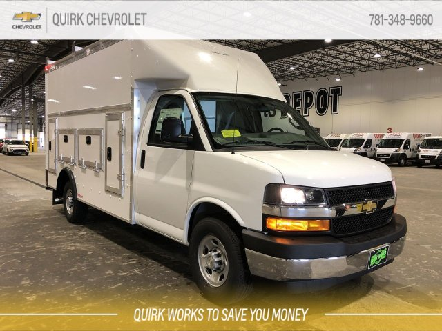 2019 Chevrolet Express 3500 4x2, Rockport Service Utility Van #C67940 - photo 1