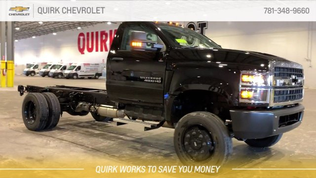 2019 Silverado 4500 Regular Cab DRW 4x4,  Cab Chassis #C68037 - photo 1