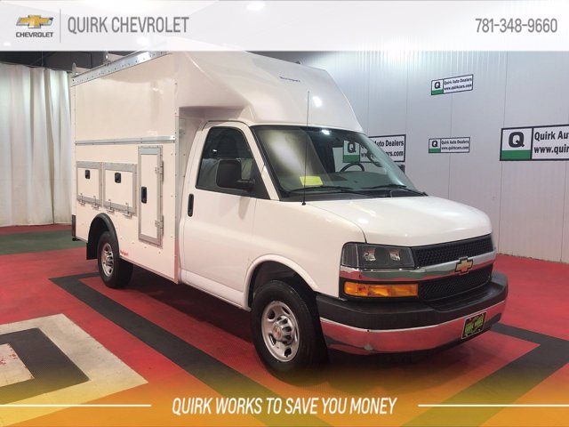 2020 Chevrolet Express 3500 RWD, Rockport Workport Service Utility Van #C70734 - photo 5
