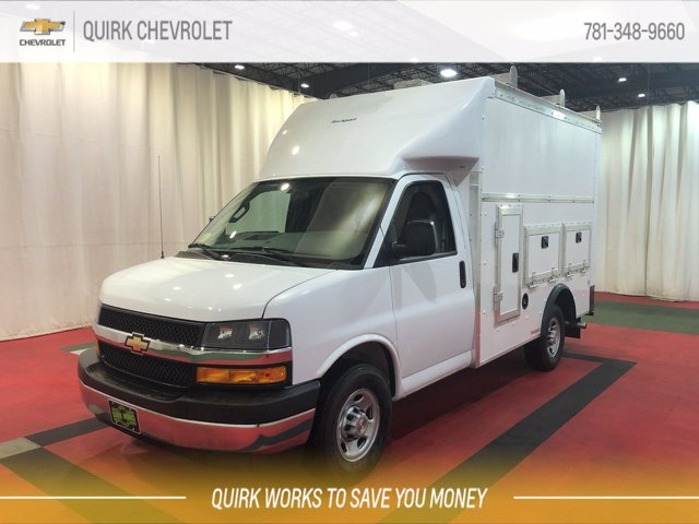 2020 Chevrolet Express 3500 RWD, Rockport Workport Service Utility Van #C70734 - photo 7
