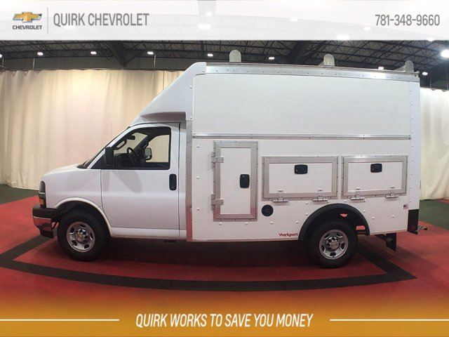 2020 Chevrolet Express 3500 RWD, Rockport Workport Service Utility Van #C70734 - photo 8