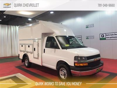2020 Chevrolet Express 3500 RWD, Rockport Workport Service Utility Van #C70734 - photo 1