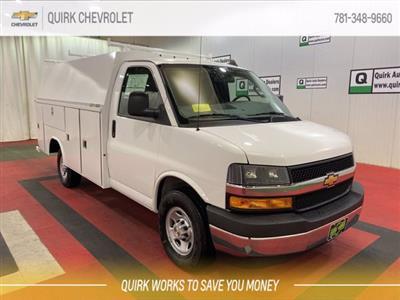 2020 Chevrolet Express 3500 4x2, Reading Aluminum CSV Service Utility Van #C71157 - photo 1