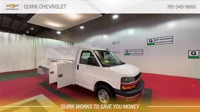 2020 Chevrolet Express 3500 4x2, Reading Aluminum CSV Service Utility Van #C71157 - photo 3