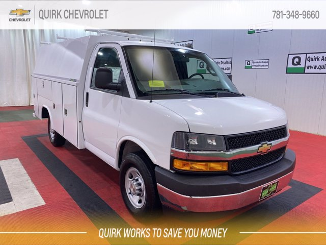 2021 Chevrolet Express 3500 4x2, Reading Service Utility Van #C71420 - photo 1